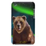 Caso del tacto de IPod de la fauna del oso grizzly iPod Touch Case-Mate Funda