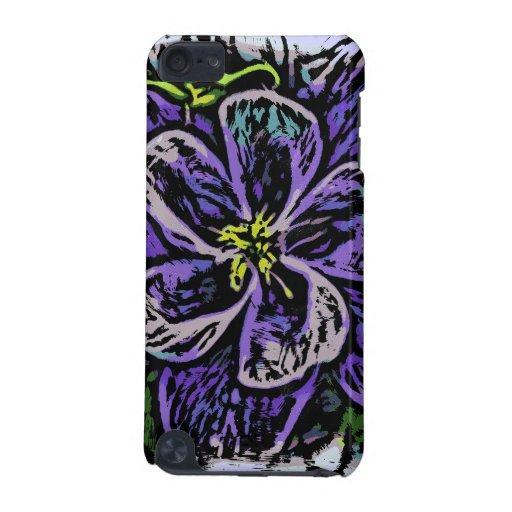 Caso del tacto de iPod de la flor de Columbine