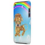 Caso del tacto de iPod de la foto y del arco iris  Barely There iPod Protector