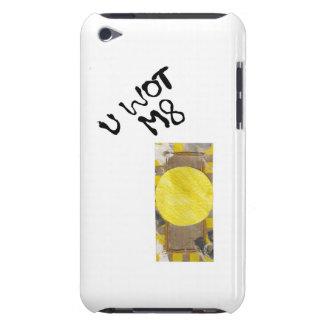 Caso del tacto de IPod de la generación del botón iPod Touch Case-Mate Carcasas