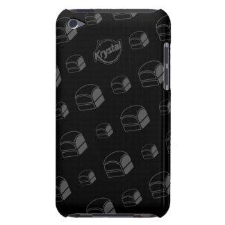 Caso del tacto de iPod de la hamburguesa de Krysta iPod Touch Cobertura