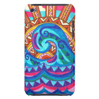 Caso del tacto de iPod de la ola oceánica iPod Case-Mate Protector
