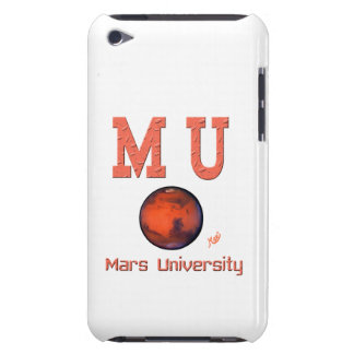 Caso del tacto de iPod de la universidad de Marte Barely There iPod Protectores
