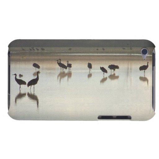 Caso del tacto de iPod de las grúas de Sandhill iPod Touch Case-Mate Protector