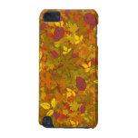 Caso del tacto de iPod de las hojas de otoño