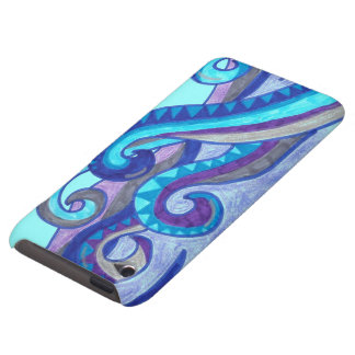 Caso del tacto de iPod de las olas oceánicas del b Case-Mate iPod Touch Protector