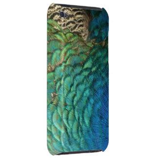 Caso del tacto de iPod de las plumas del pavo real iPod Touch Fundas