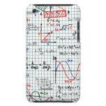 Caso del tacto de iPod de los números de fórmulas  iPod Touch Cárcasas