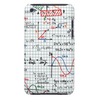 Caso del tacto de iPod de los números de fórmulas  iPod Case-Mate Cárcasa