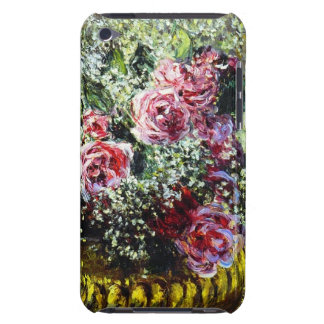 Caso del tacto de iPod de los rosas de Monet Cubierta Para iPod De Barely There
