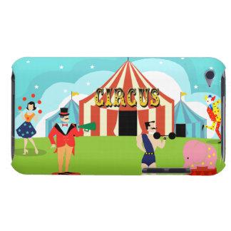 Caso del tacto de iPod del circo del vintage Case-Mate iPod Touch Fundas