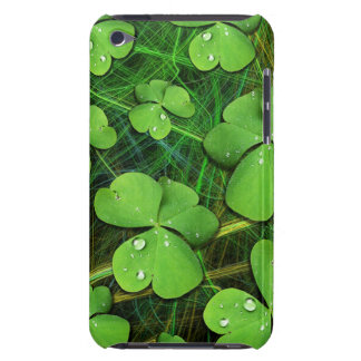 Caso del tacto de iPod del día de St Patrick verde Cubierta Para iPod De Barely There