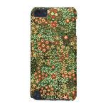 Caso del tacto de iPod del diseño floral del vinta