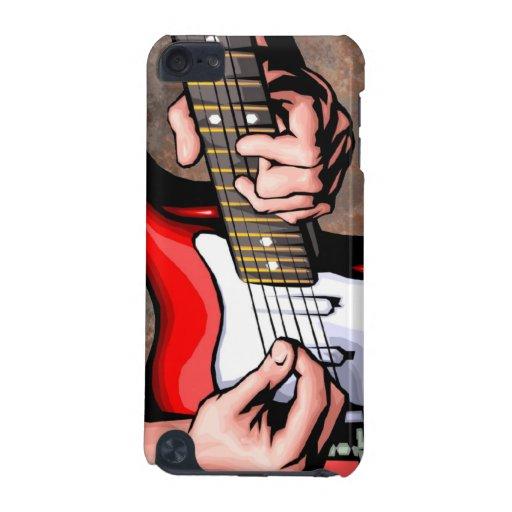 Caso del tacto de iPod del guitarrista Funda Para iPod Touch 5G