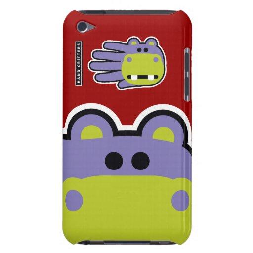 Caso del tacto de iPod del hipopótamo iPod Touch Protector