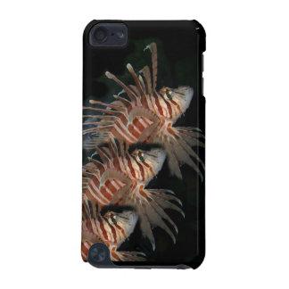 Caso del tacto de iPod del Lionfish Funda Para iPod Touch 5G