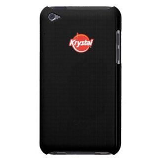 Caso del tacto de iPod del logotipo de Krystal iPod Case-Mate Carcasa