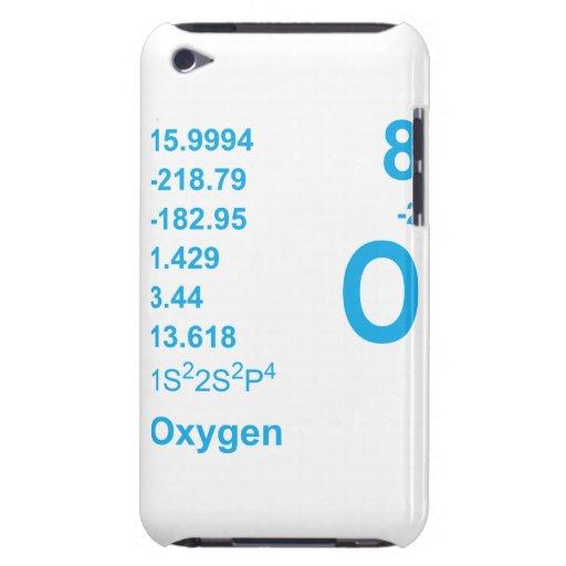 Caso del tacto de iPod del oxígeno (azul) iPod Case-Mate Coberturas