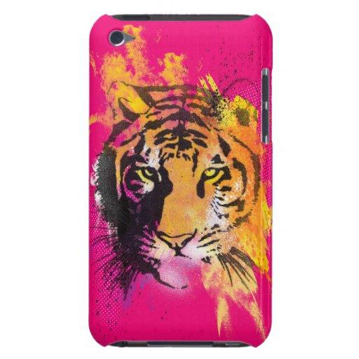 Caso del tacto de iPod del tigre de la pintada Case-Mate iPod Touch Fundas