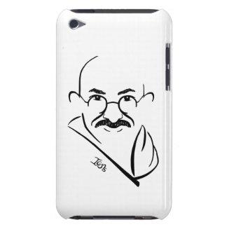 Caso del tacto de Mahatma Gandhi iPod iPod Case-Mate Fundas