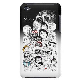 caso del tacto de Memes iPod del facebook Case-Mate iPod Touch Fundas