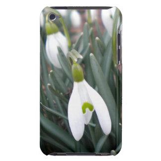 Caso del tacto de Snowdrop (Galanthus Nivalis) Funda iPod