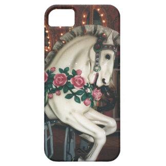 Caso del tacto del iPhone del caballo del carrusel iPhone 5 Funda