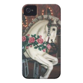 Caso del tacto del iPhone del caballo del carrusel Case-Mate iPhone 4 Cobertura