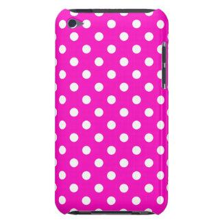 Caso del tacto G4 de iPod del lunar del rosa iPod Case-Mate Cárcasa