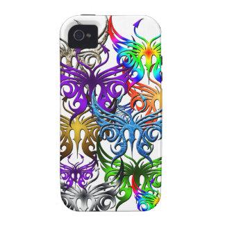 Caso del teléfono de la mariposa Case-Mate iPhone 4 funda