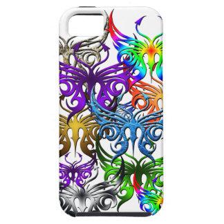 Caso del teléfono de la mariposa iPhone 5 carcasas