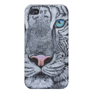 Caso del tigre de Iphone iPhone 4/4S Funda