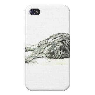 Caso del tigre iPhone 4/4S carcasa