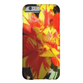 Caso del tulipán iPhone6 de la explosión de la Funda De iPhone 6 Barely There