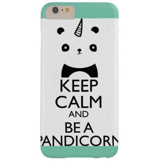 Caso del unicornio de la panda del iPhone de la Funda Para iPhone 6 Plus Barely There