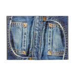 Caso del viejo ipad raído del bolsillo de los teja iPad mini carcasas