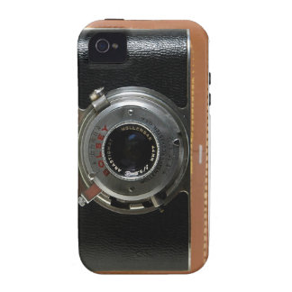 Caso del vintage de la cámara para el universal de iPhone 4 carcasas