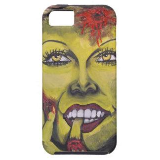 Caso del zombi VI iPhone 5 Protectores