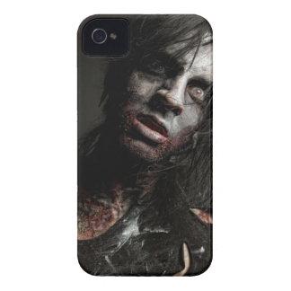 Caso del zombi (zarzamora) Case-Mate iPhone 4 carcasa