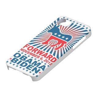 Caso delantero 2012 del iPhone 5 de Obama iPhone 5 Fundas