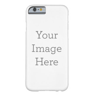 Caso delgado de encargo del iPhone 6