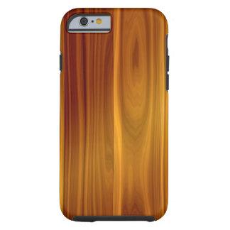 Caso delgado del iPhone 6 duros de madera de la Funda De iPhone 6 Tough