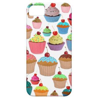 Caso delicioso del iPhone de las magdalenas 4 iPhone 5 Case-Mate Protectores