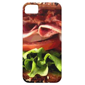 Caso delicioso del iPhone del bocadillo iPhone 5 Carcasa