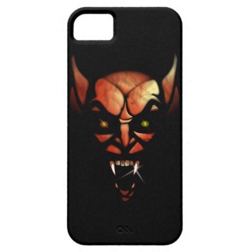 Caso demoníaco del iPhone 5 de la posesión Funda Para iPhone 5 Barely There