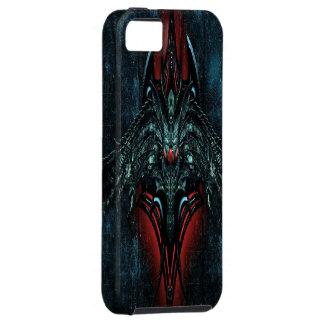 Caso demoníaco del iPhone 5 del cráneo iPhone 5 Case-Mate Protectores