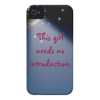 Caso descarado del iPhone del chica Case-Mate iPhone 4 Carcasa