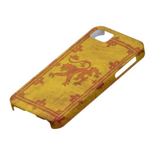 Caso desenfrenado escocés del iPhone 5 del león iPhone 5 Cobertura