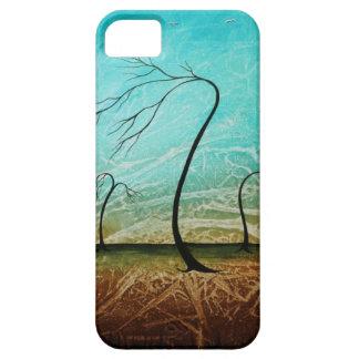 Caso desnudo del arte del árbol del iPhone fresco iPhone 5 Funda
