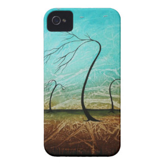 Caso desnudo del arte del árbol del iPhone fresco iPhone 4 Case-Mate Cárcasa